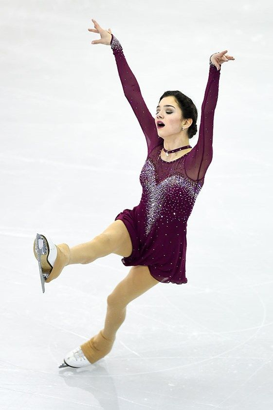 Evgenia Medvedeva FS at 2015 GPF
