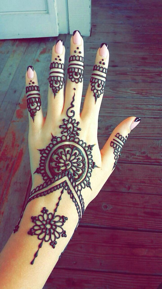 Mehndi Hand Tattoo Art : So simple and easy henna tattoo ideas pinterest