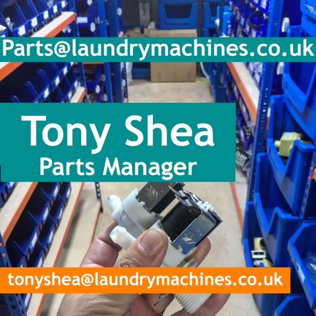 Selection Of Used Laundry Equipment Parts In Stock Now Laundry