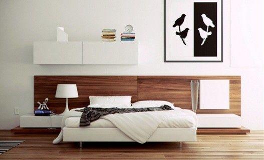 cama-moderna-dormitorio-matrimonial Decoración Pinterest Camas