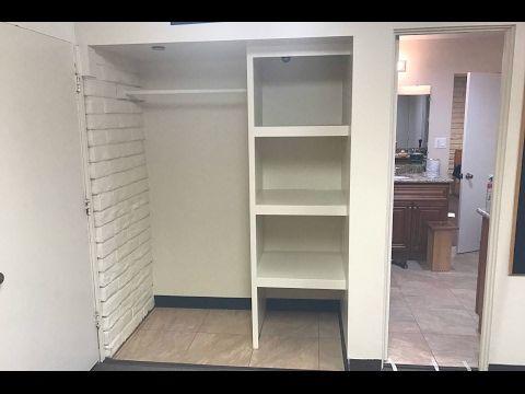 Como Hacer De Un Closet Un Walk In Closet Youtube Closet De Madera Sencillos Closet De Madera Closets De Madera