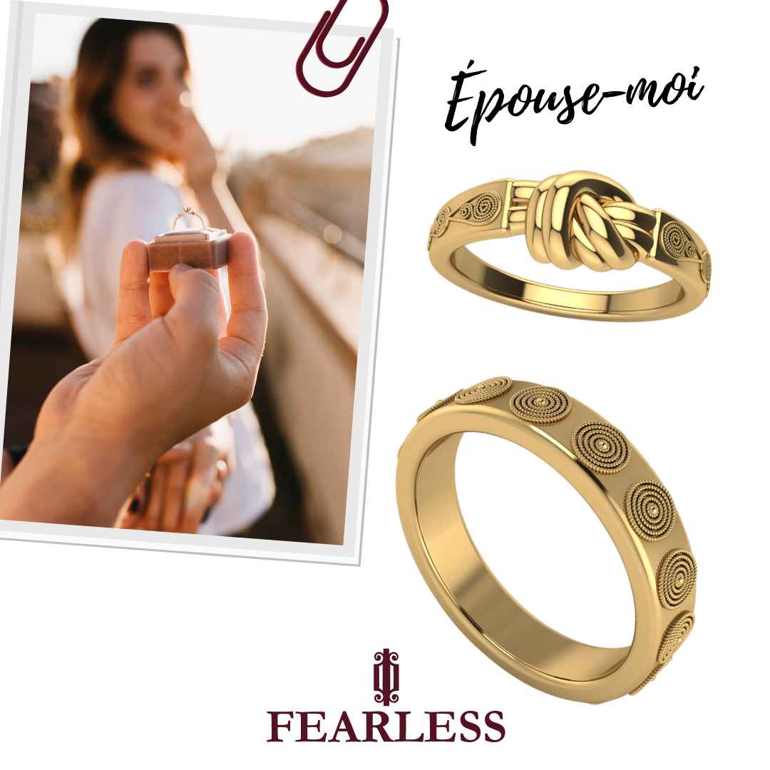 Epouse Moi Engagement Jewelry Fearless
