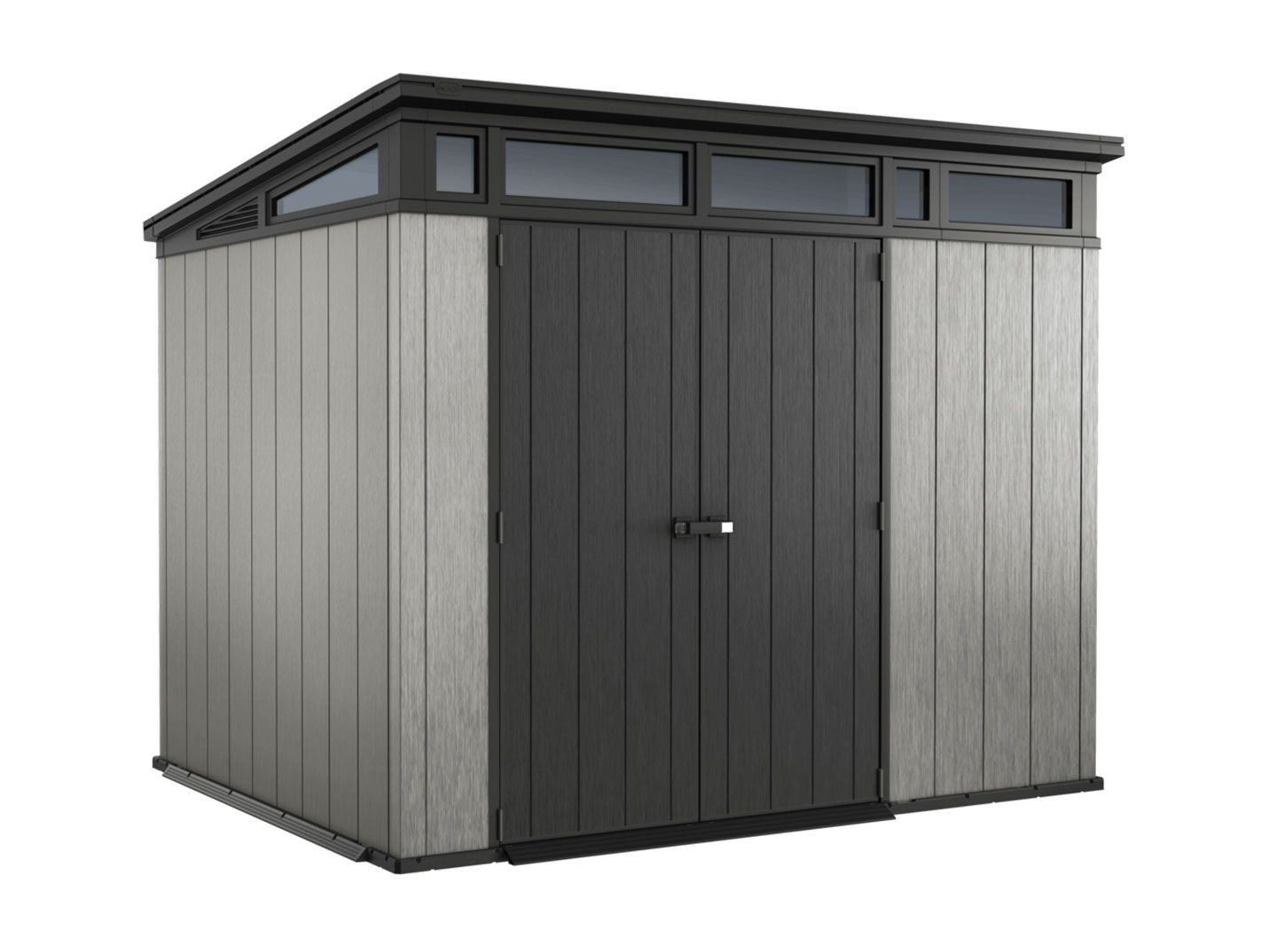 Keter Artisan 7x9 Shed 2 77m X 2 18m Resin Garden Sheds Sheds Carports Trade Tested Shed Storage Outdoor Storage Solutions Storage Shed