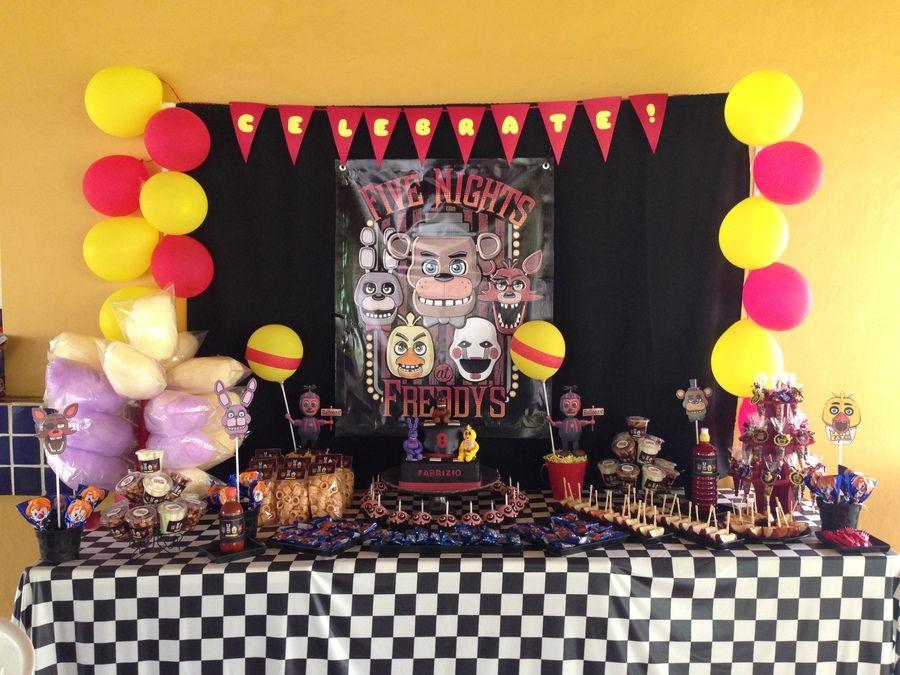 Resultado De Imagem Para Five Nights At Freddy S Party Ideas