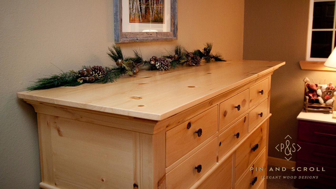 Rustic Pine Bedroom Set Large Knotty Pine Dresser 01 Pine Bedroom Furniture Pine Dresser Pine Bedroom