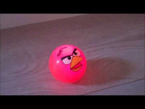Stuiterbal Met Licht : Leuke boze vogel stuiterballen met licht overal uitverkocht