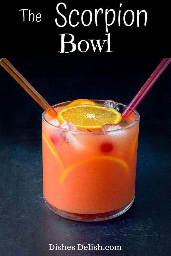 Scorpion Bowl #cocktaildrinks