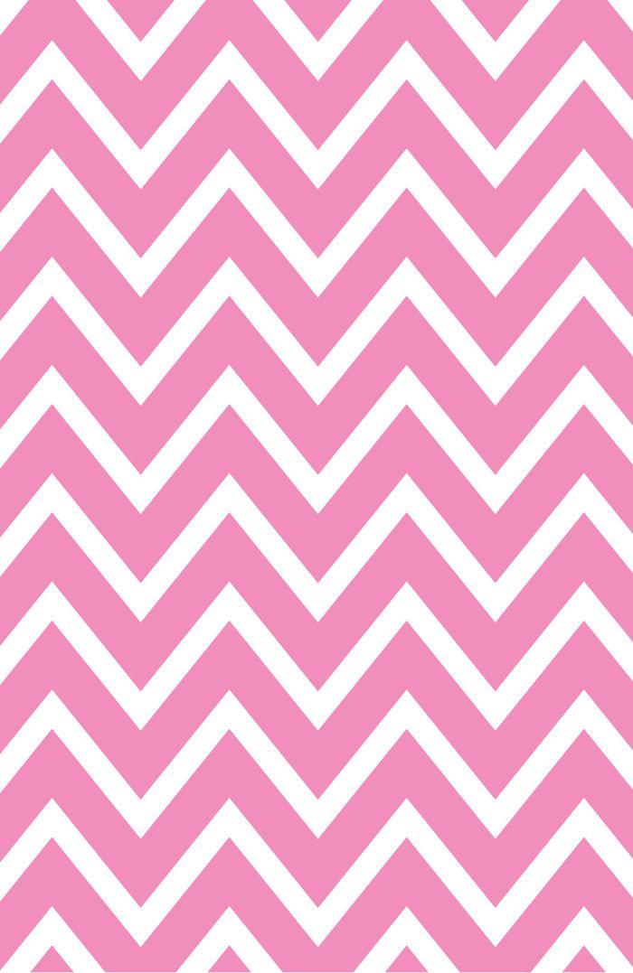 Pink Chevron Art Print by robbytate
