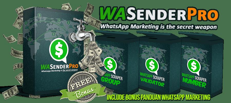 WASENDER PRO) Whatsapp Sender PRO v4 Cracked - Whatsapp marketing
