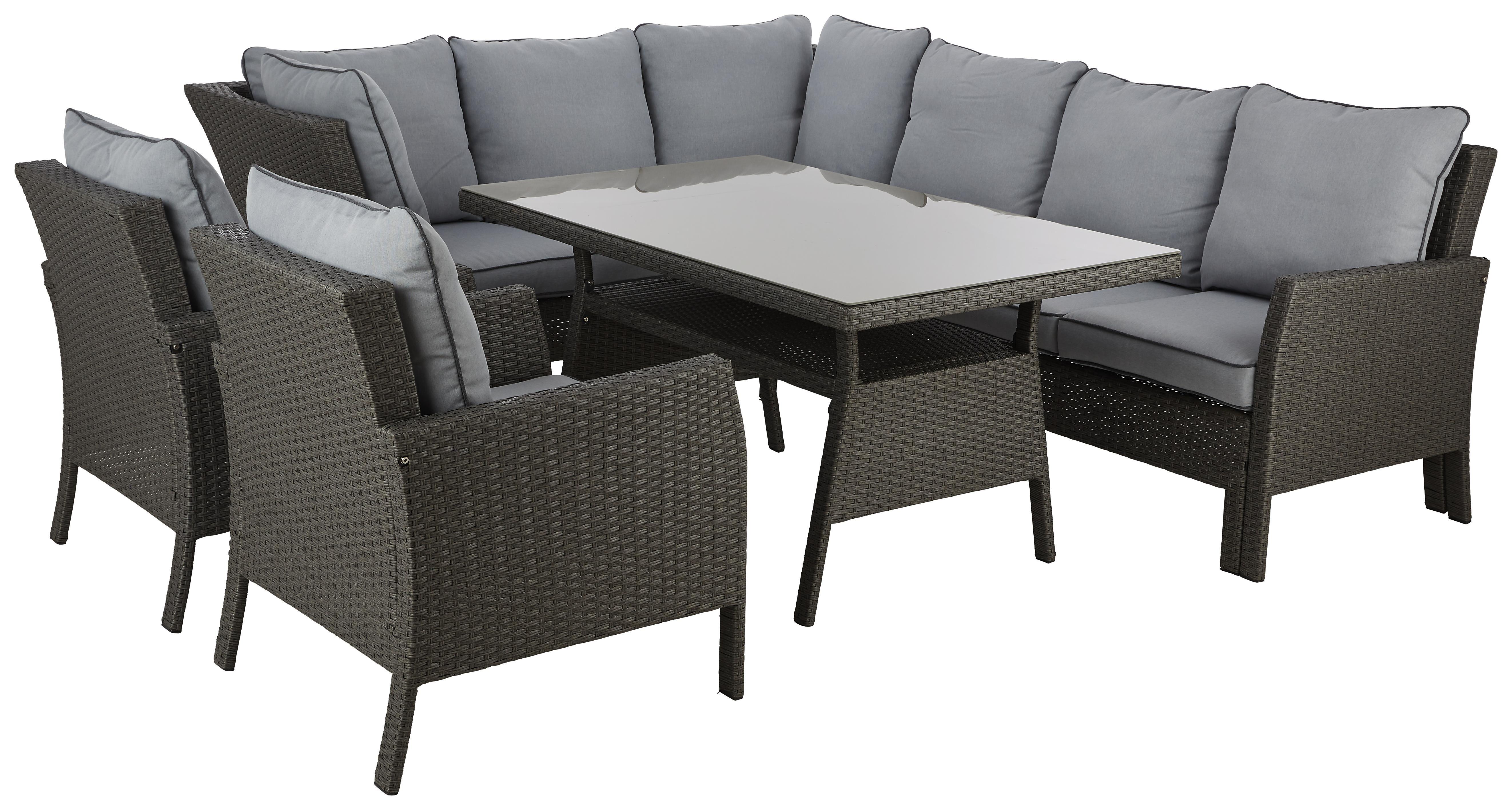 Loungegarnitur In Grau Von Ambia Garden Shoppen In 2020 Lounge Garnitur Lounge Lounge Mobel