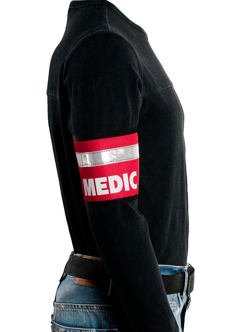 SAVE 15 with coupon code JULIA15 Red reflective Medic
