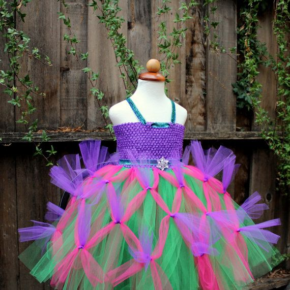 Mardi Gras Tutu Dress Peacock themed party peacock by BloomsNBugs, $80.00
