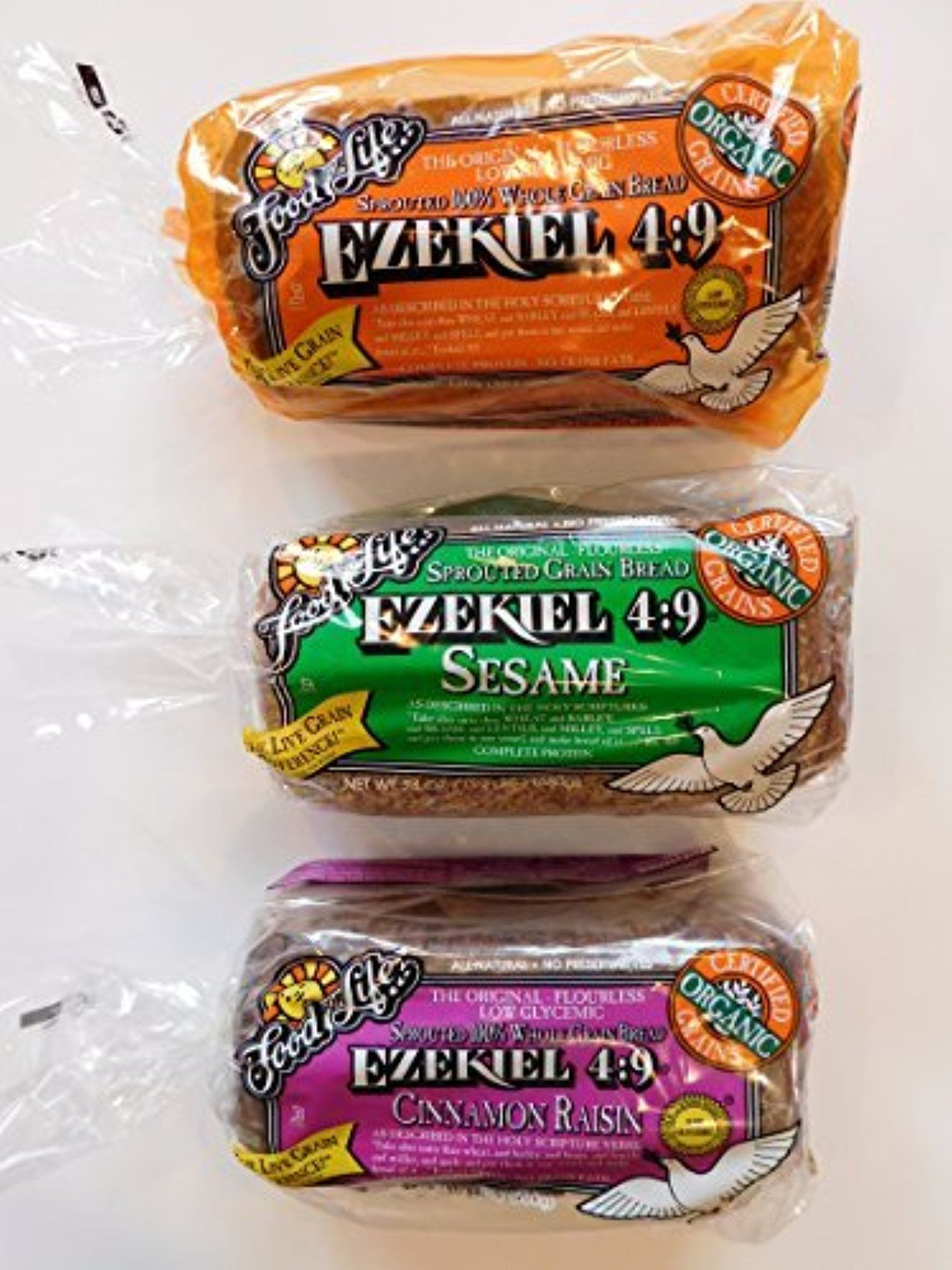 Food For Life Ezekiel 4 9 Bread Original Sprouted Cinnamon Raisin Sesame 3 Pack By Bunch Of Chazari Ezekiel Bread Recipe Easy Ezekiel Bread Cinnamon Raisin