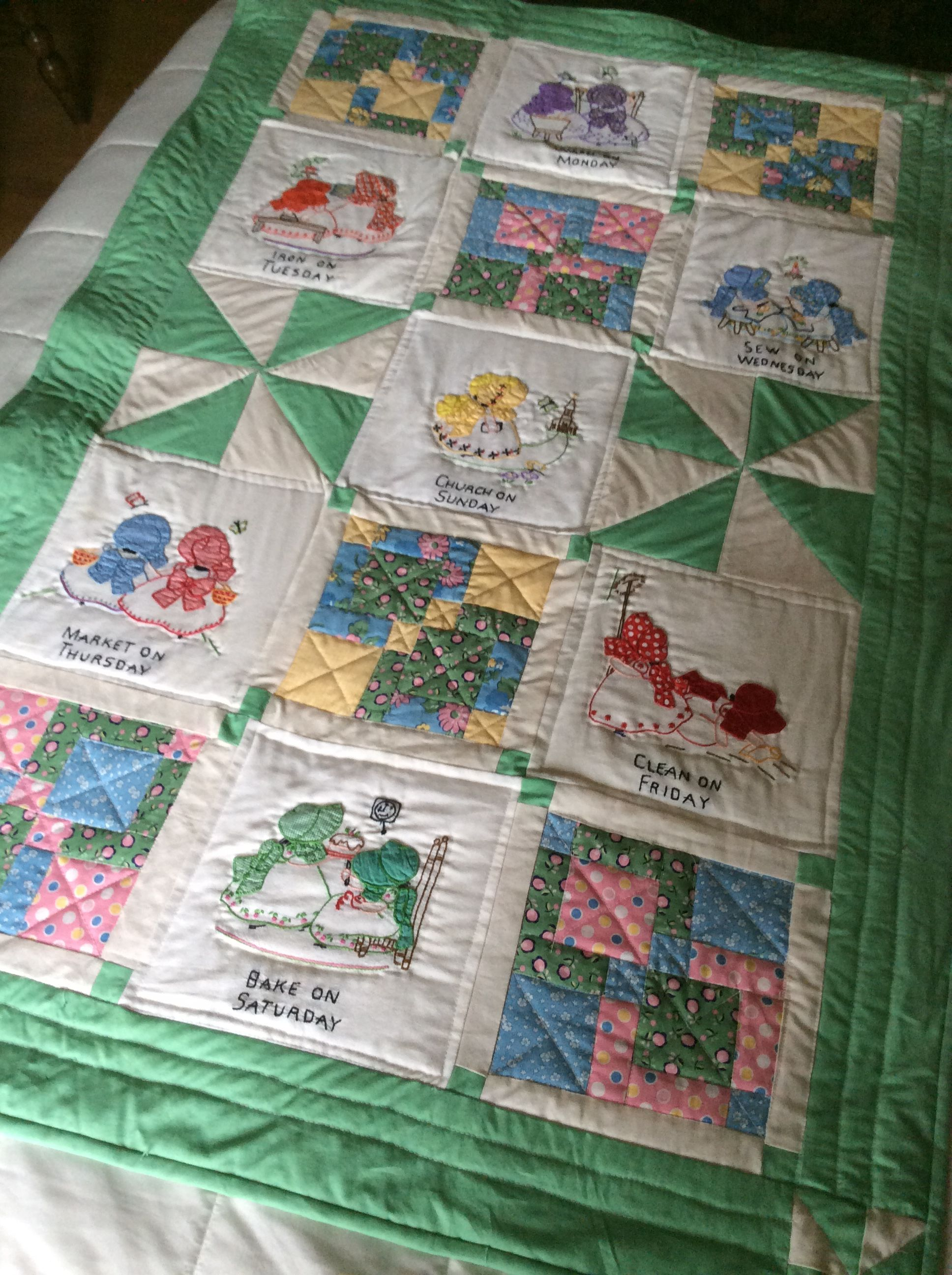 Grandmothers cup towels