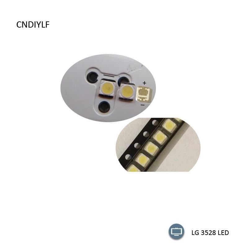 Original Lg Led Lcd Tv Backlight Lamp Beads Lens 1w 3v 3528 2835