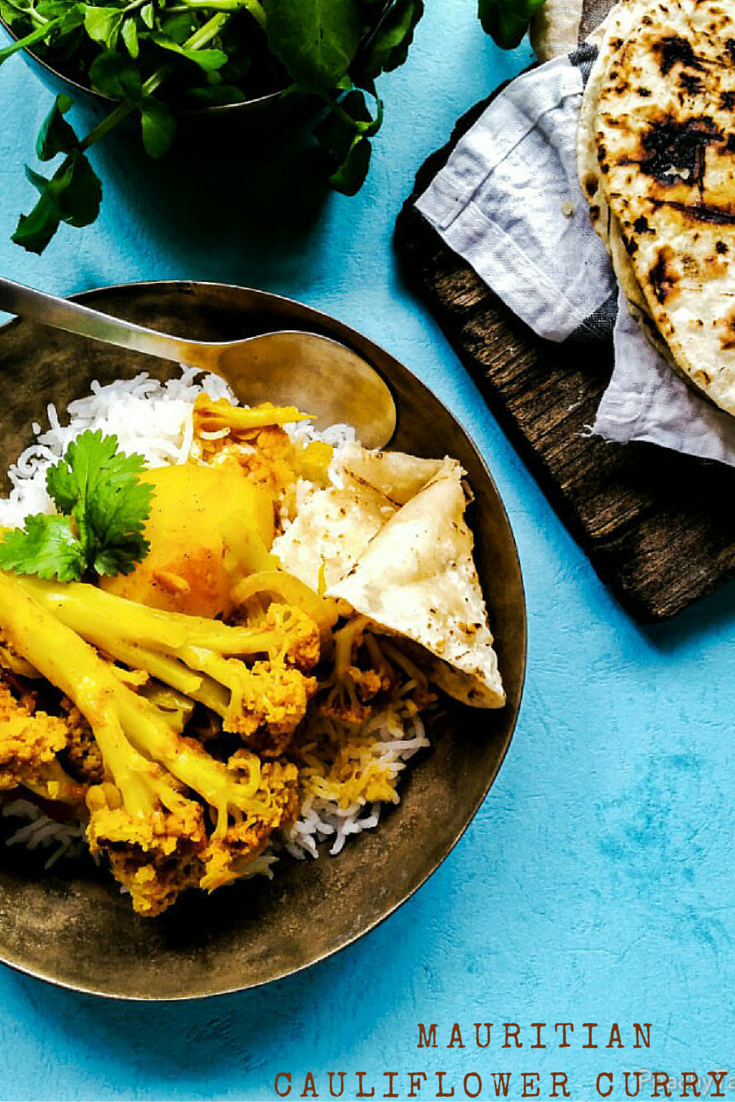 Mauritian Cauliflower Curry Mauritian Chou Fleur Masala Www
