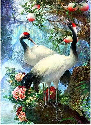 Birds Full Square Drill 5D DIY Diamond Painting
