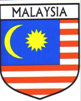 Malaysia flag country malaysia flag sticker