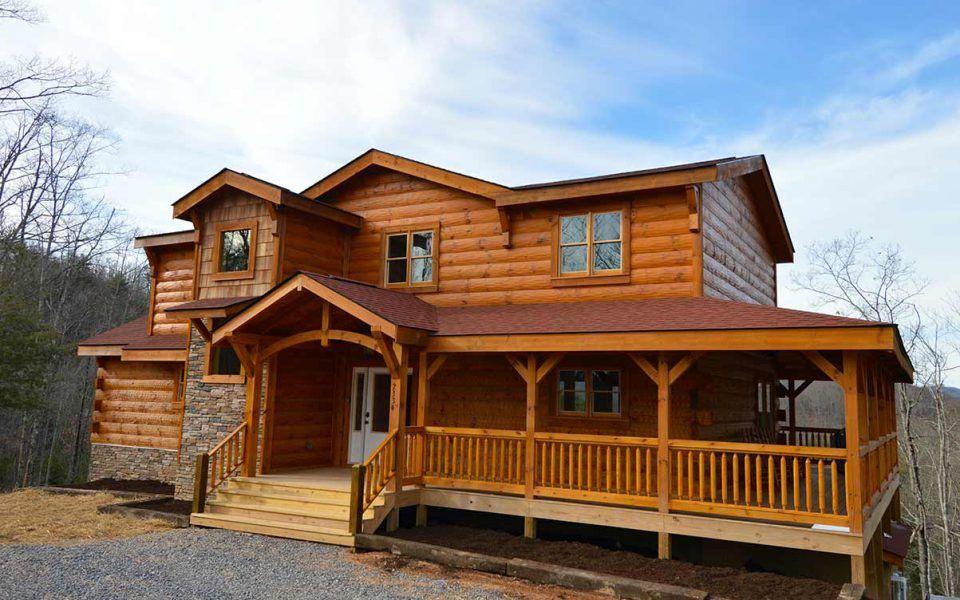 Big sky i naturecraft homes log homes log cabin