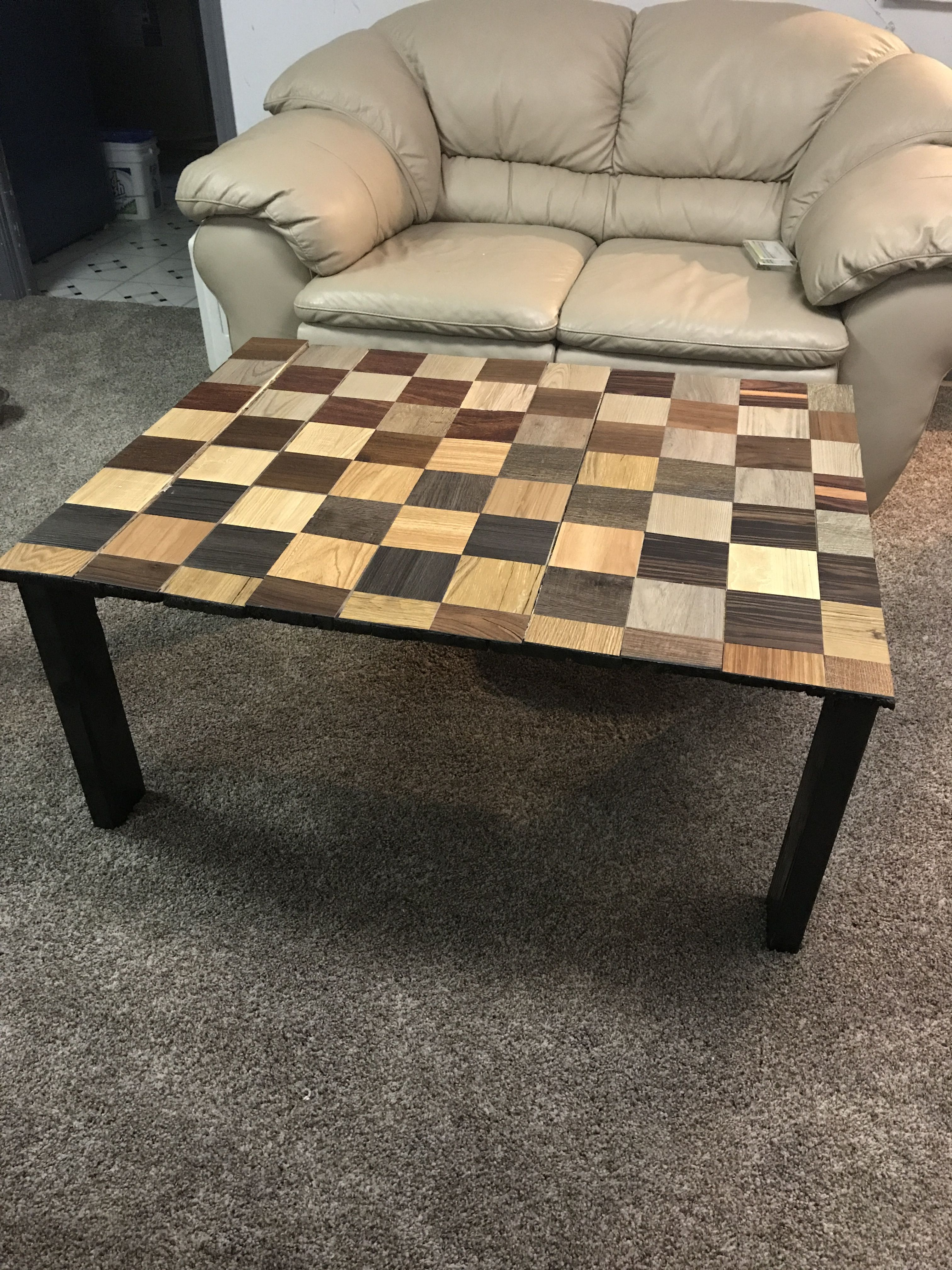 Completely Free Coffee Table Used Pallet Wood And Free - Diy Table Using Flooring