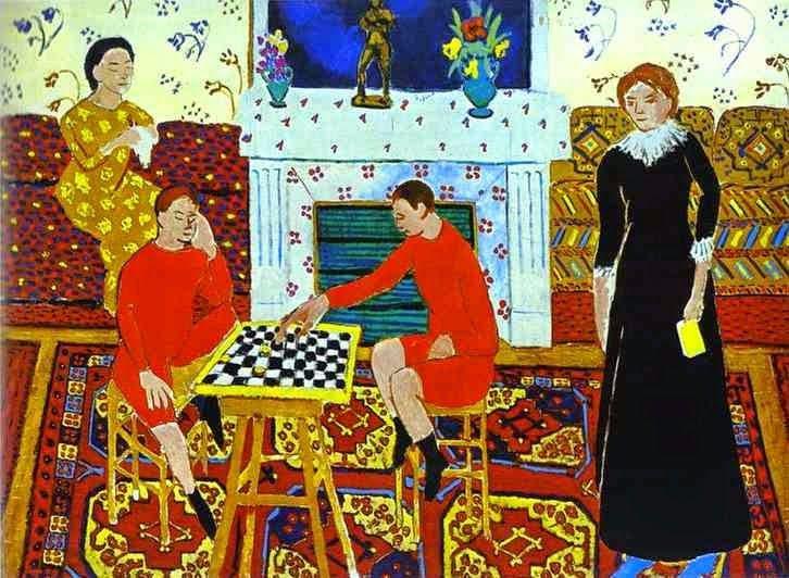 Verrassend Matisse Plays Chess | Matisse schilderijen, Matisse kunst, Idee verf TP-49