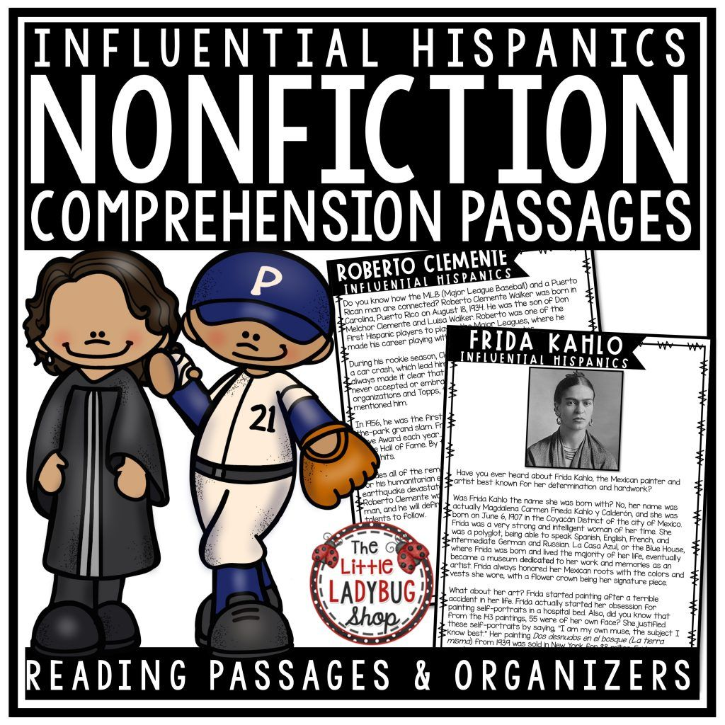 Hispanic Heritage Month Activities Nonfiction Reading Passages And Questions Reading Passages Nonfiction Reading Passages Nonfiction Reading [ 1024 x 1024 Pixel ]