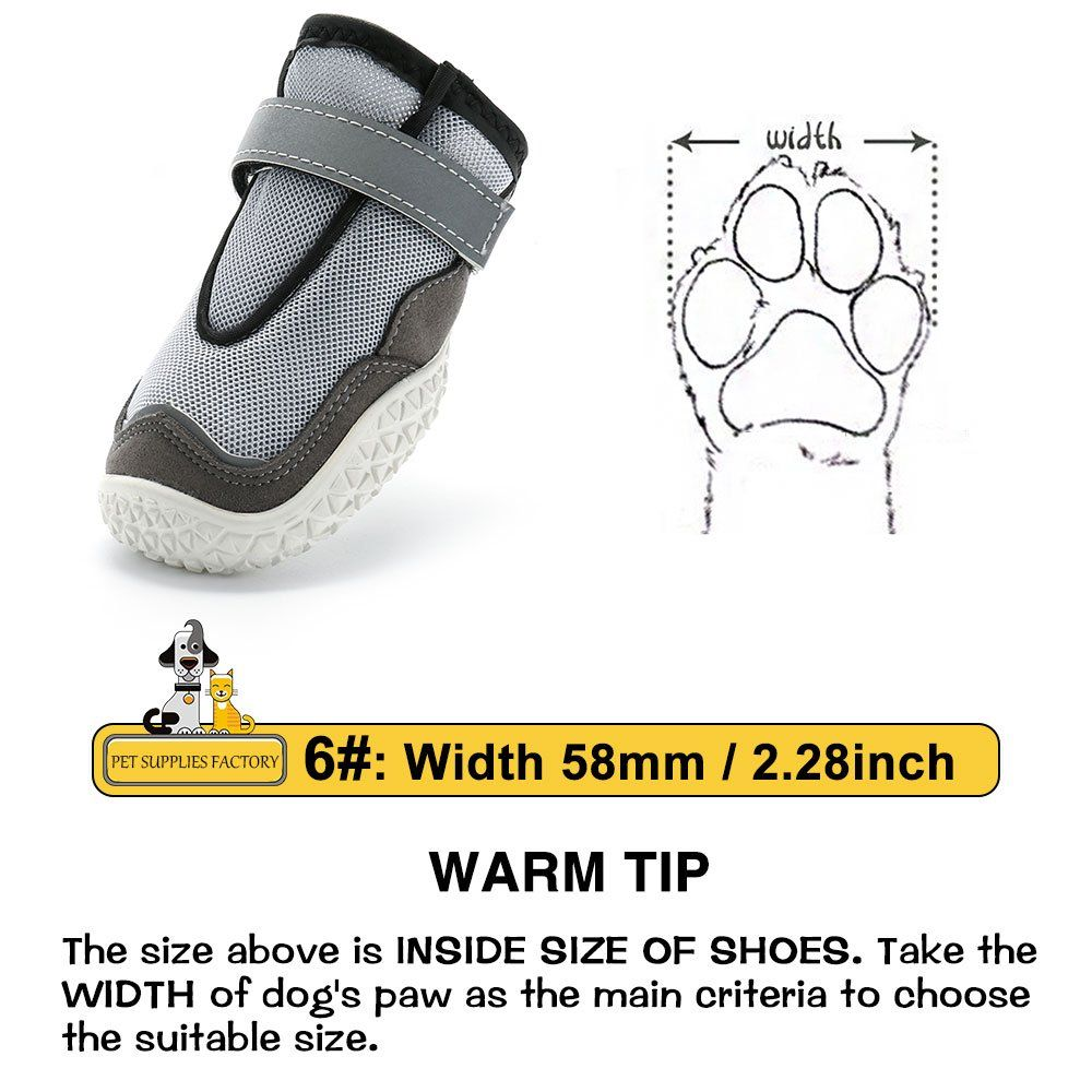 RoyalCare Paw Protector Dog Boots Set