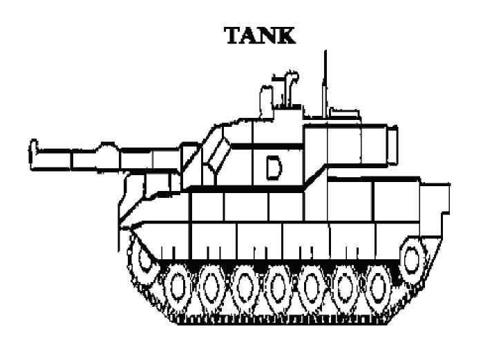 Free Printable Coloring Pages - Military Tank. Boys will love ...