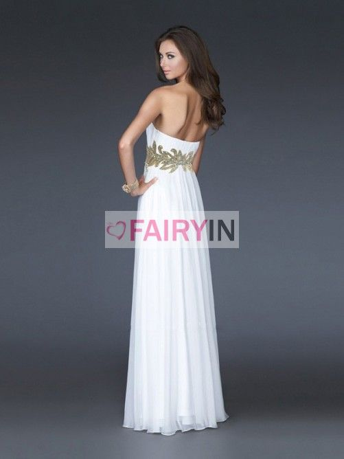 Sheath/Column Sweetheart Chiffon Sleeveless Floor-Length Ruffles Dresses