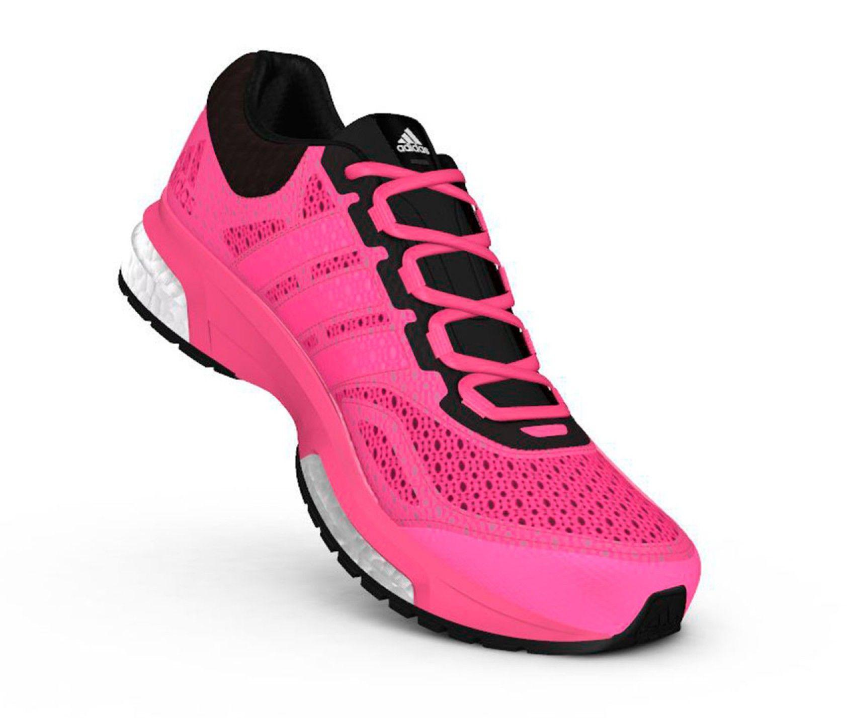 adidas response boost mujer rosa