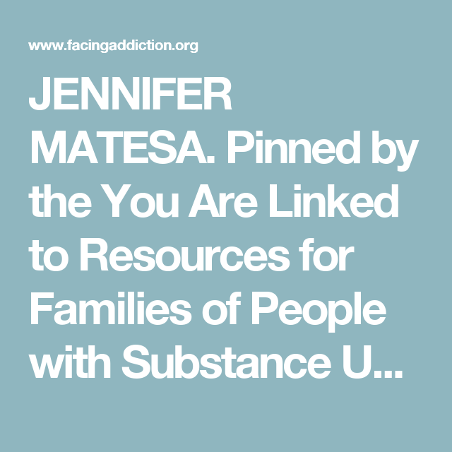 JENNIFER MATESA. Pinned by the You Are Linked to Resources