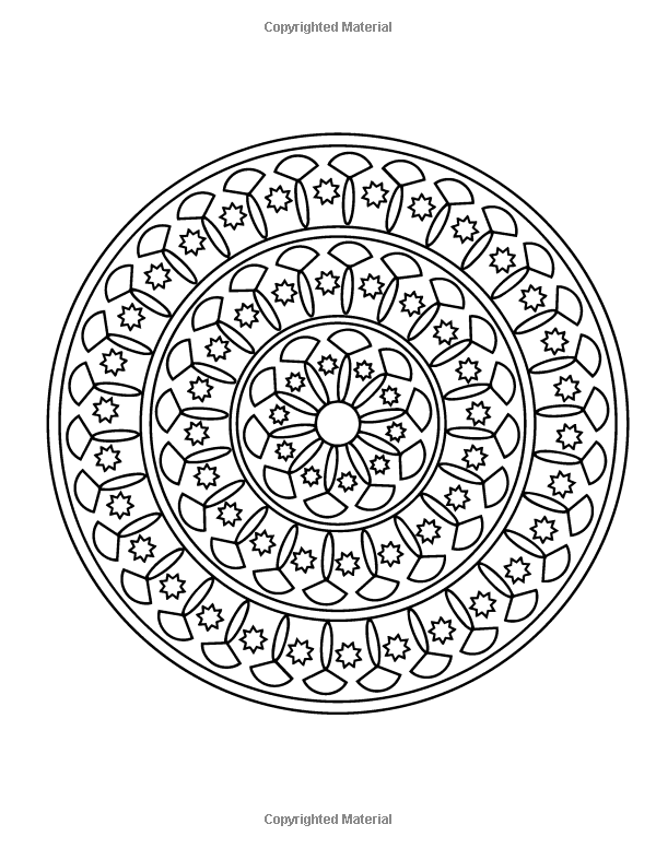 Mandala Coloring Pages: Penny Farthing Graphics ...