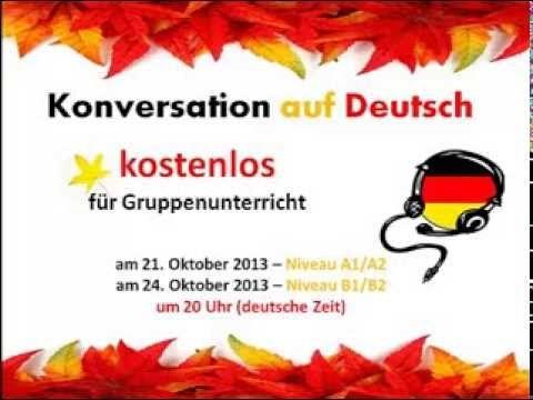 Konversation auf Deutsch. Thema Herbst. Niveau A1/A2 (With