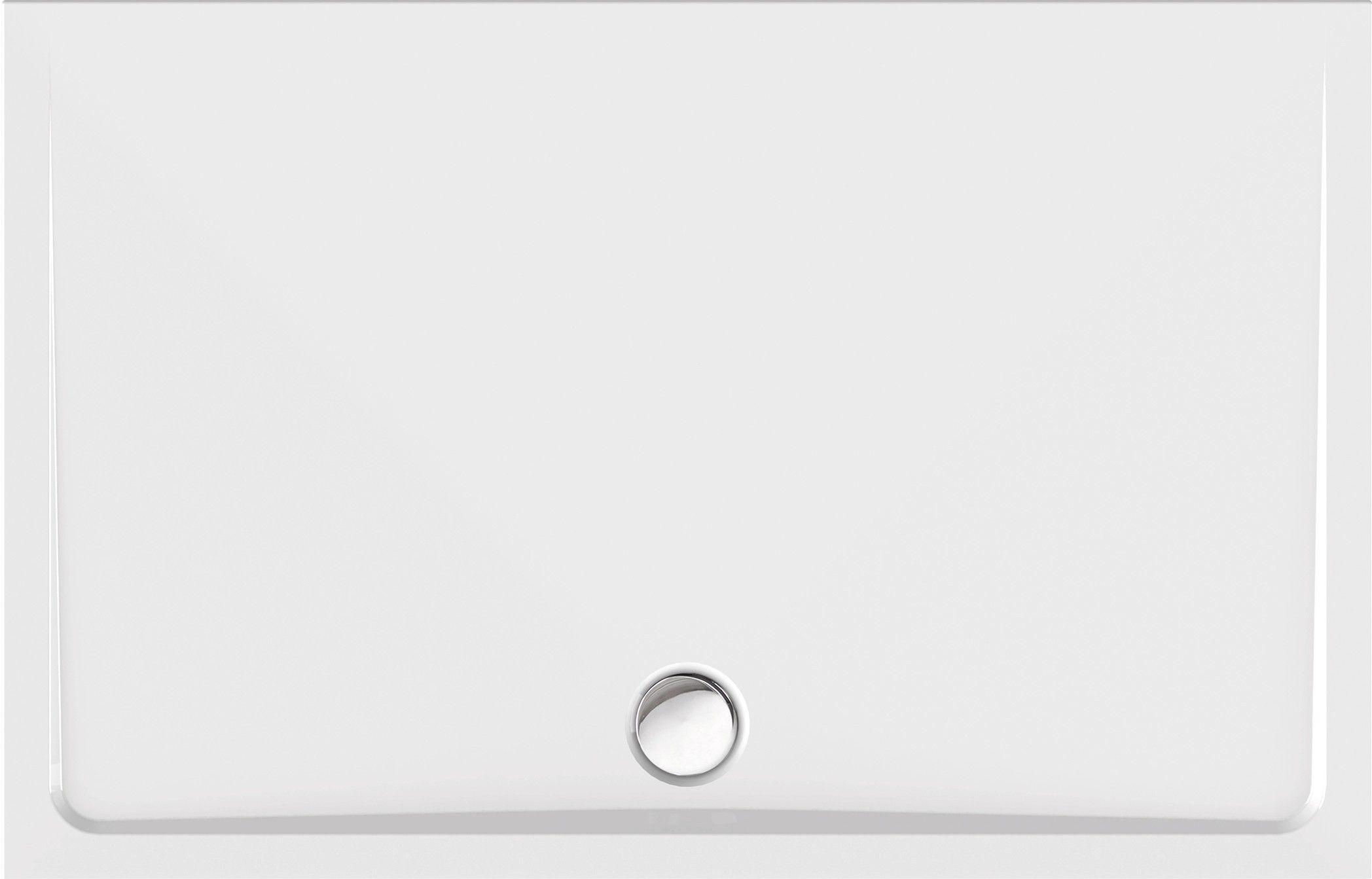 Duschwanne superflach 140 x 90 x 2,5 cm Wanne