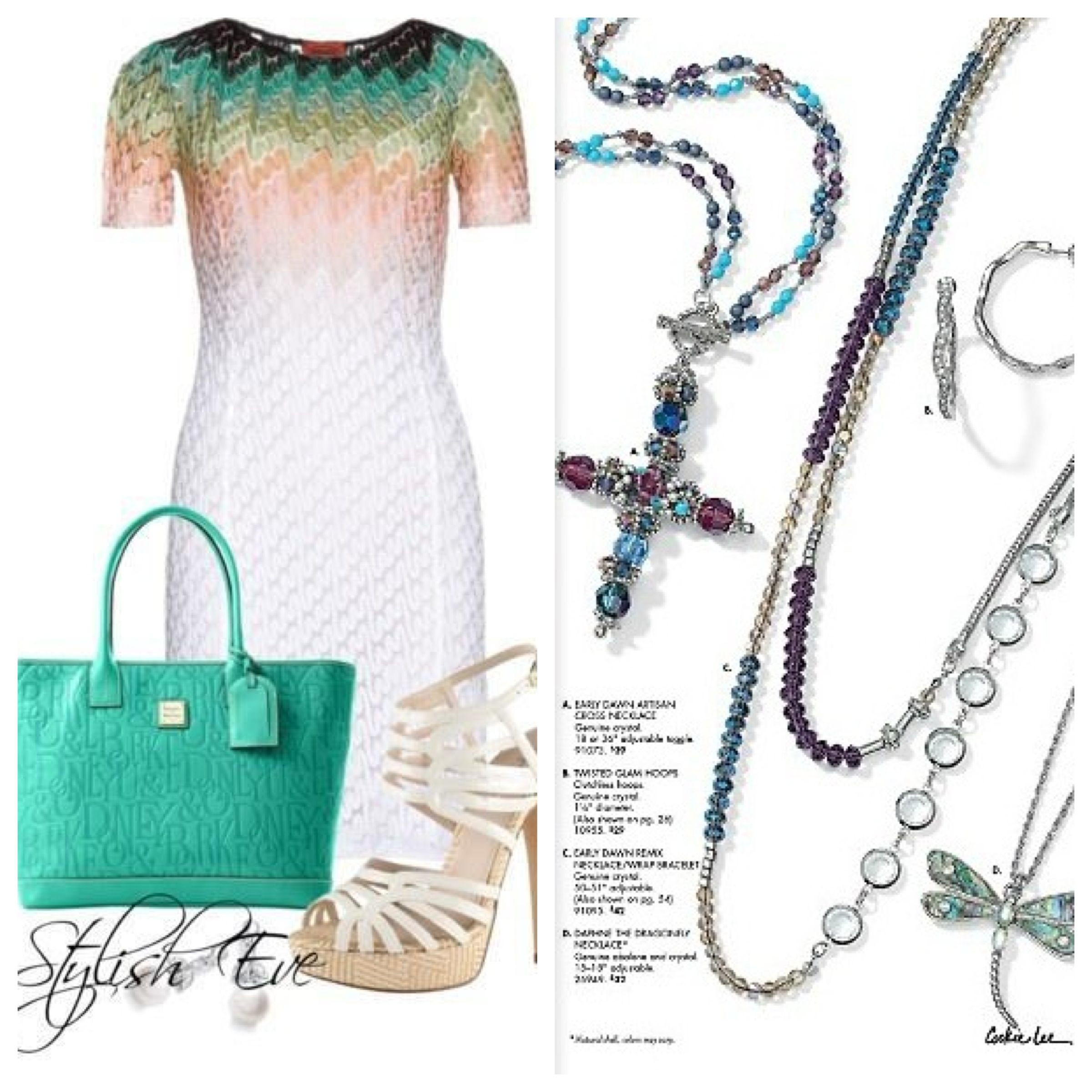 A Stylish Eve outfit is not complete without your Cookie Lee jewelry