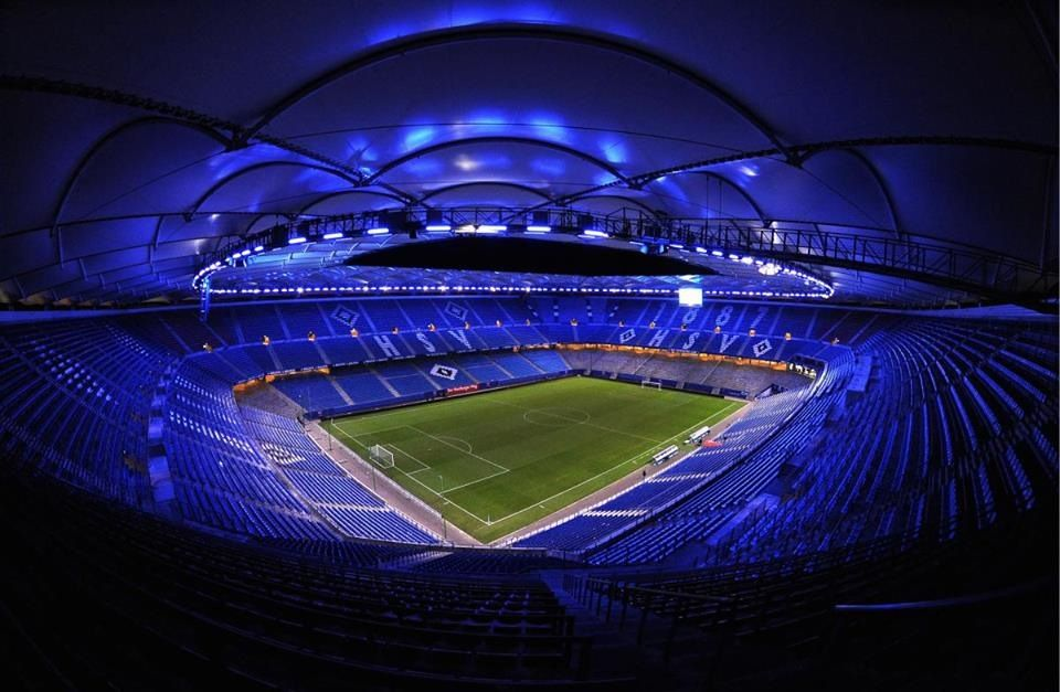 pin auf hsv stadion