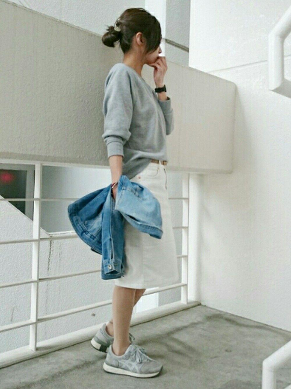 Ayaさんのデニムジャケット「ZARA KIDS Gジャン」を使ったコーディネート