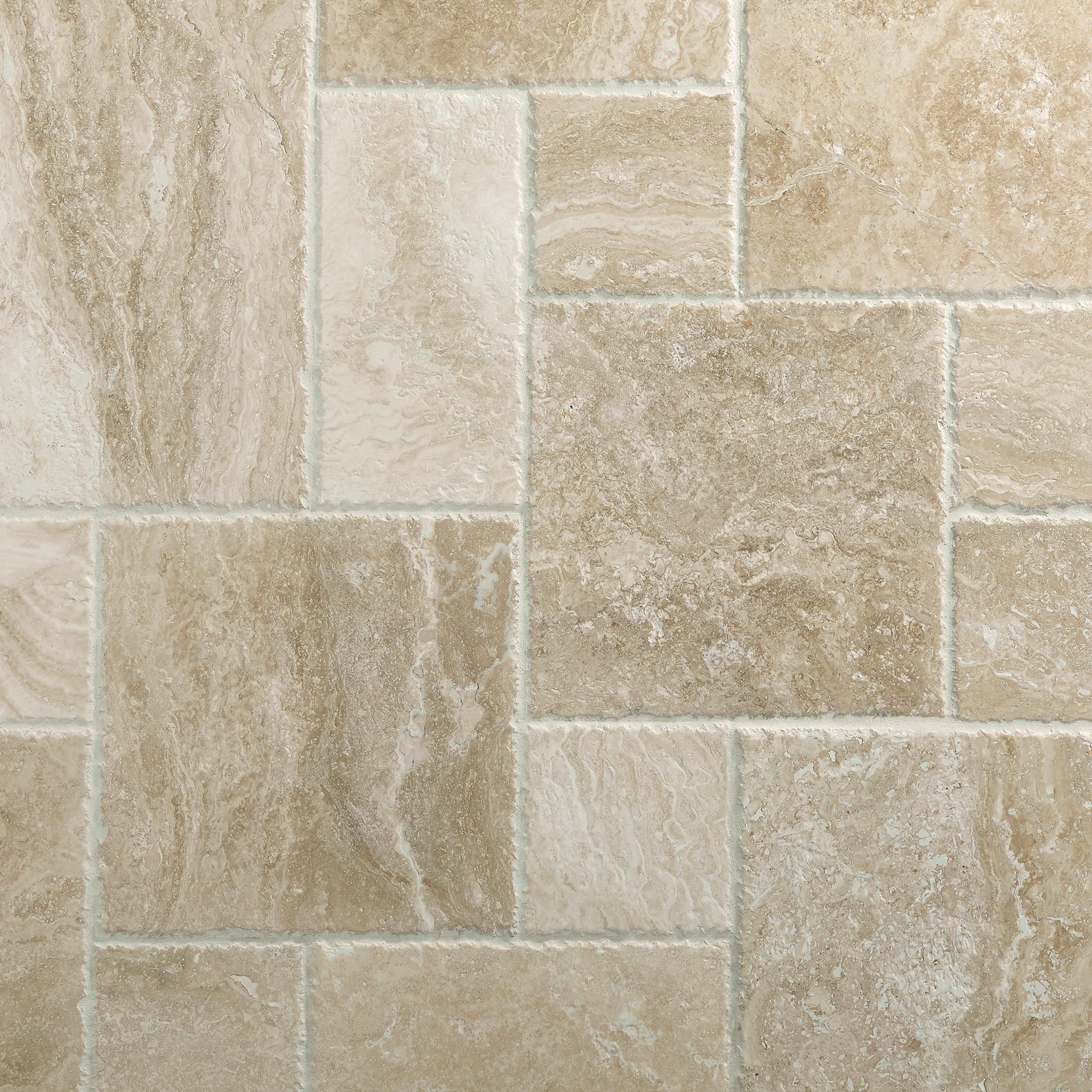 Cascade Cream Brushed Travertine Tile Floor Decor Travertine Floor Tile Travertine Tile Travertine Bathroom