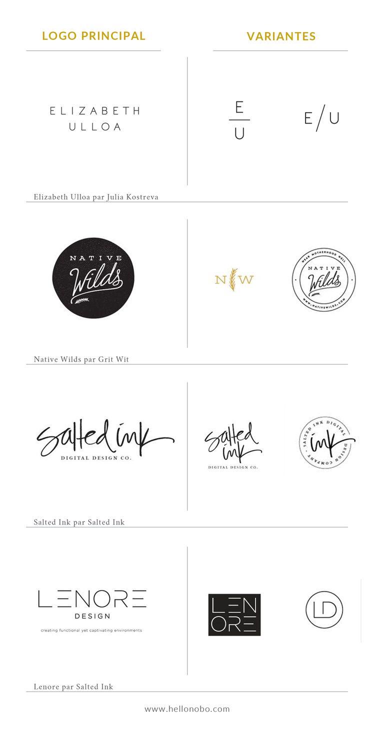 Créez des variantes de votre logo — Atelier Nobo