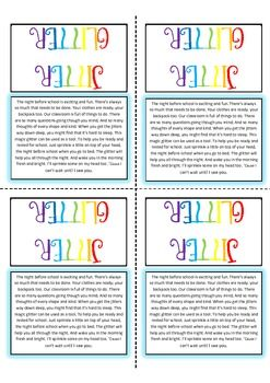 It is a picture of Astounding Jitter Glitter Poem Printable