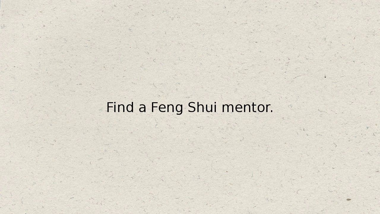 How To Become A Feng Shui Consultant