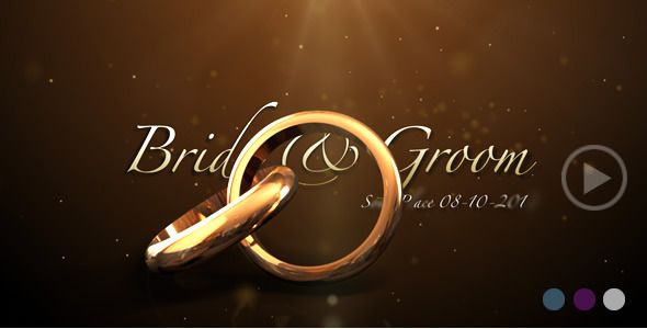 Weddings Rings Intro Free Wedding Templates Wedding Templates Wedding Invitation Video