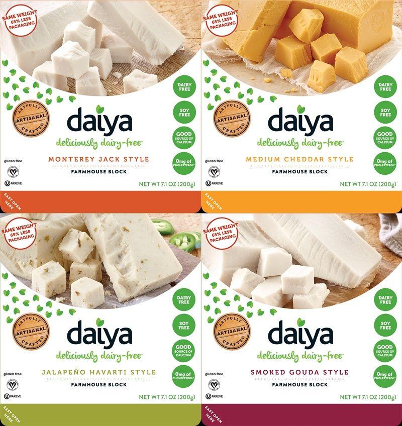 Daiya Blocks Reviews Info Dairy Free Hard Cheese Alternative Lactose Free Cheese Dairy Free Recipes Cheese Alternatives