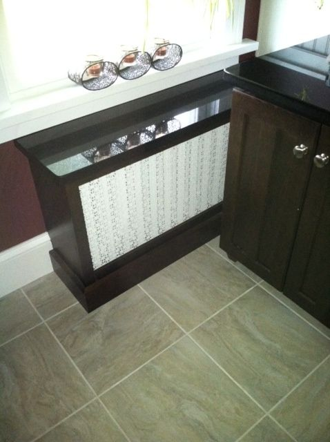 Built-in Radiator Cover With A Granite Top...!