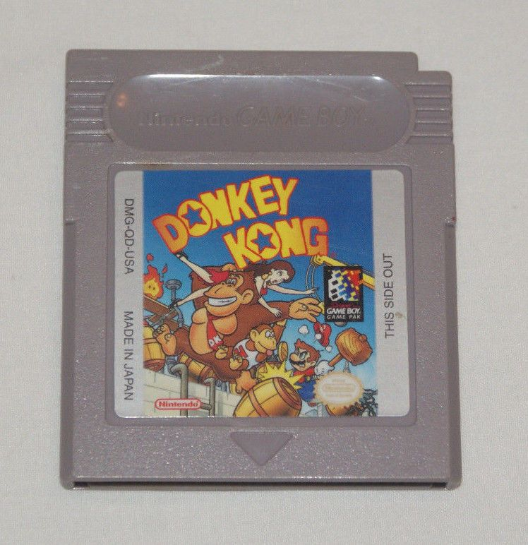 Donkey Kong Nintendo Gameboy Game Boy Tested Works Polished Pins
