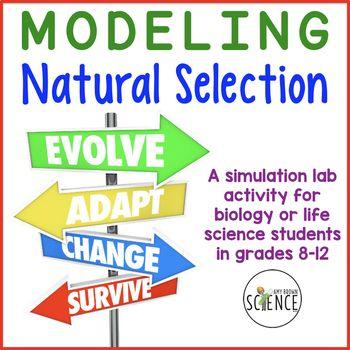Evolution Lab Modeling Natural Selection Homeschool Science