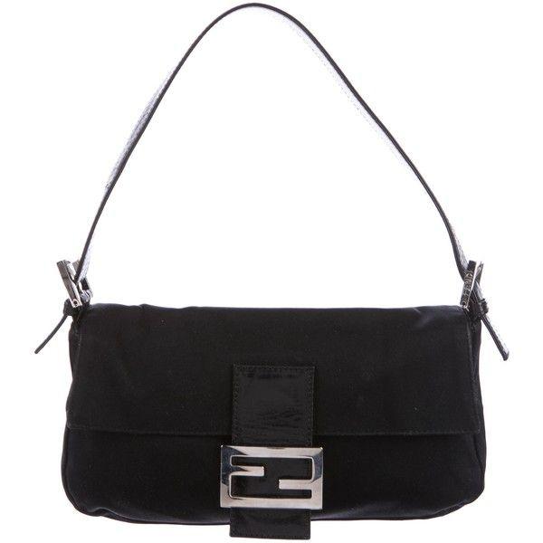 d959a6e6fb1c ... bag 600 b3cdd 7cbcc best price pre owned fendi leather trimmed baguette  845 sar liked on polyvore dca0d b75ba ...