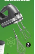 Kitchenaid Liquid Graphite 7 Speed Hand Mixer From Canadian Tire