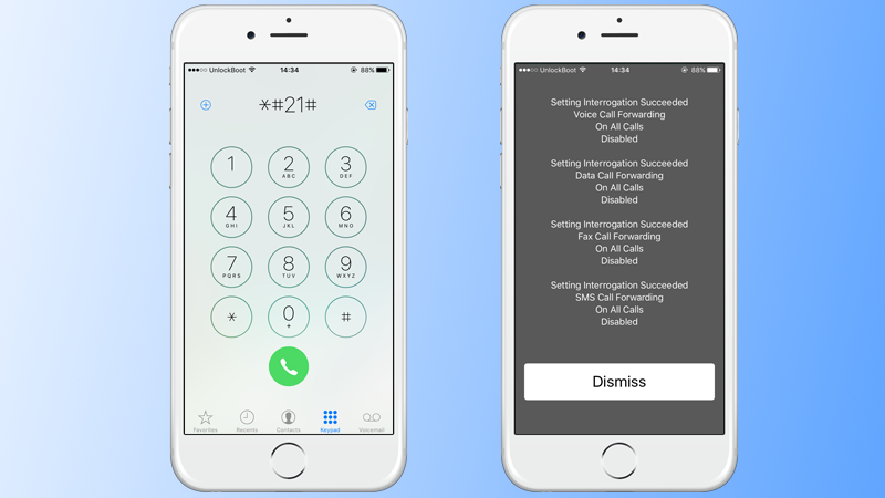 call forwarding on iphone 7