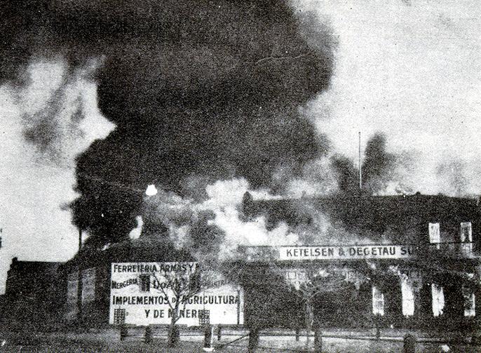 Marzo 9 de 1916  Pancho #Villa ataca Columbus, EUA. | #Memoria #Politica de #Mexico | http://memoriapoliticademexico.org/Efemerides/3/09031916.html